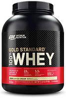 Сывороточный протеин изолят Optimum Nutrition 100% Whey Gold Standard (2.3 кг) оптимум вей голд стандарт