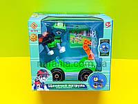 Игровой набор Щенячий патруль - Рокки с машинкой, фото 1