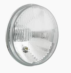 Фара головного світла Ø 178 мм Wesem RE.12411 з габаритом на ВАЗ 2101, 2102, Ниву, КАМАЗ, Ikarus, ЗАЗ, Волгу,