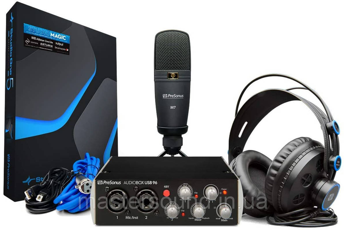 Комплект для звукозаписи Presonus AudioBox USB 96 Studio 25th Anniversary Edition Bundle