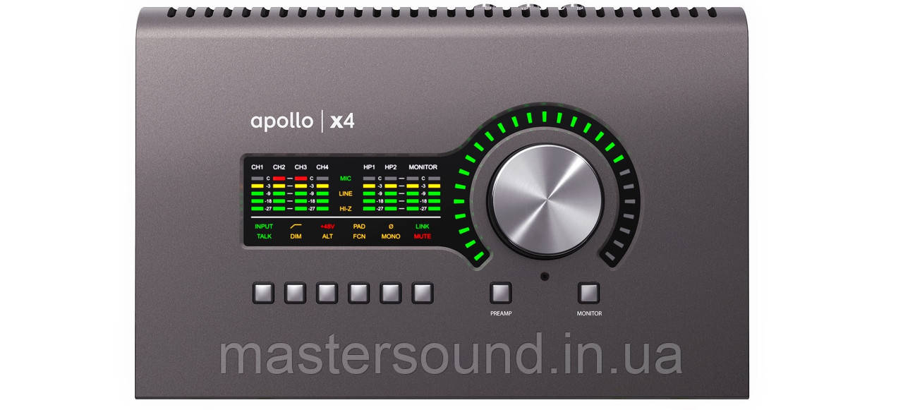 Аудио интерфейс Universal Audio Apollo x4
