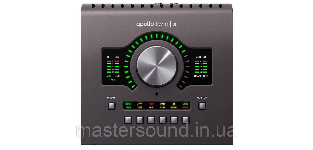 Аудио интерфейс Universal Audio Apollo Twin X Quad