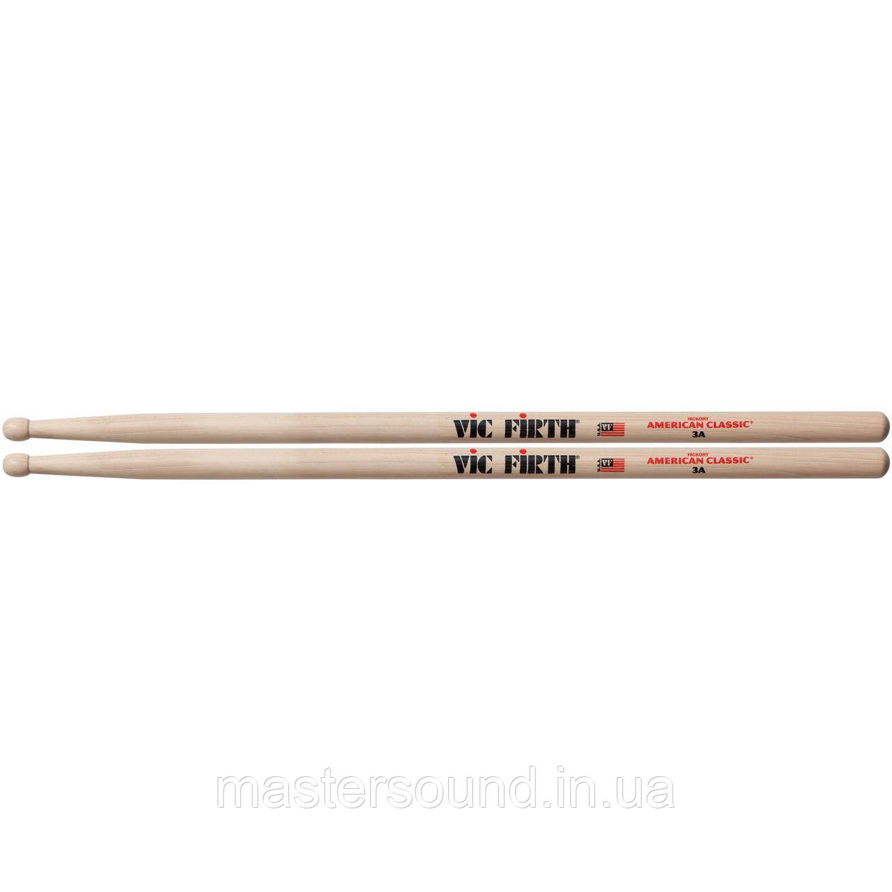 Барабанные палочки Vic Firth 3A