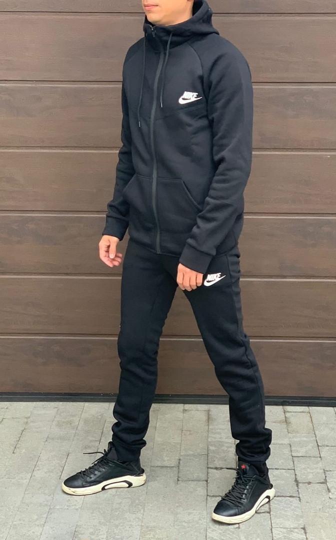 Теплый мужской спортивный костюм 47-1291