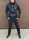 Теплый мужской спортивный костюм 47-1291, фото 2