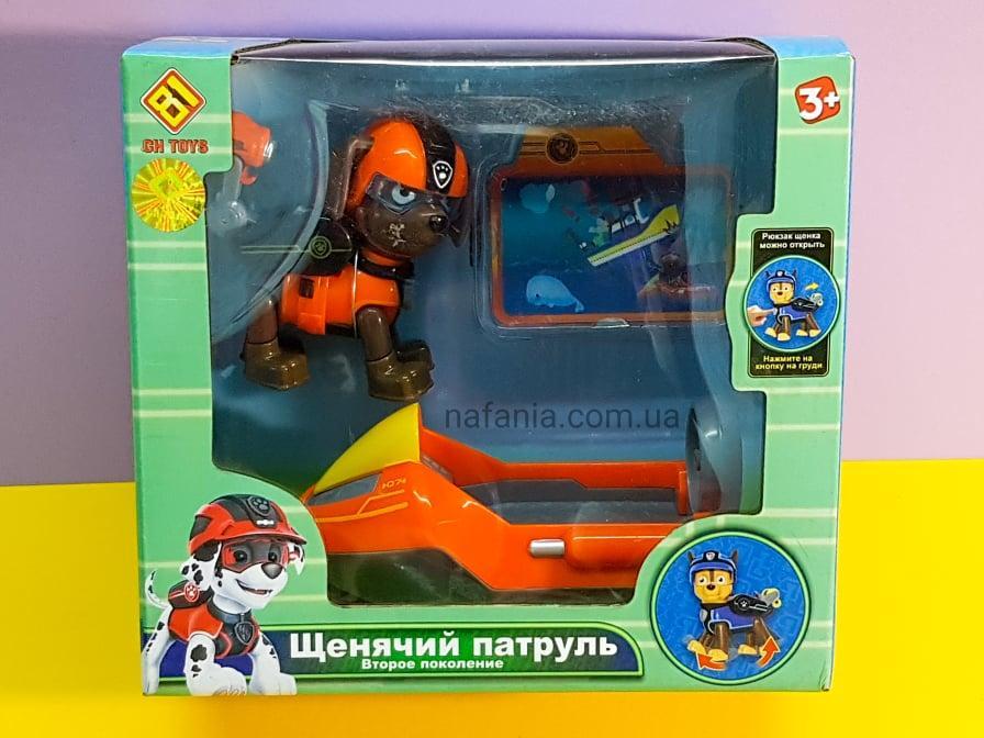 Игровой набор Щенячий патруль Зума с катером