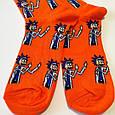 Носки Рик и Морти - Рик оранжевые размер 37-43, фото 4