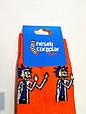 Носки Рик и Морти - Рик оранжевые размер 37-43, фото 3