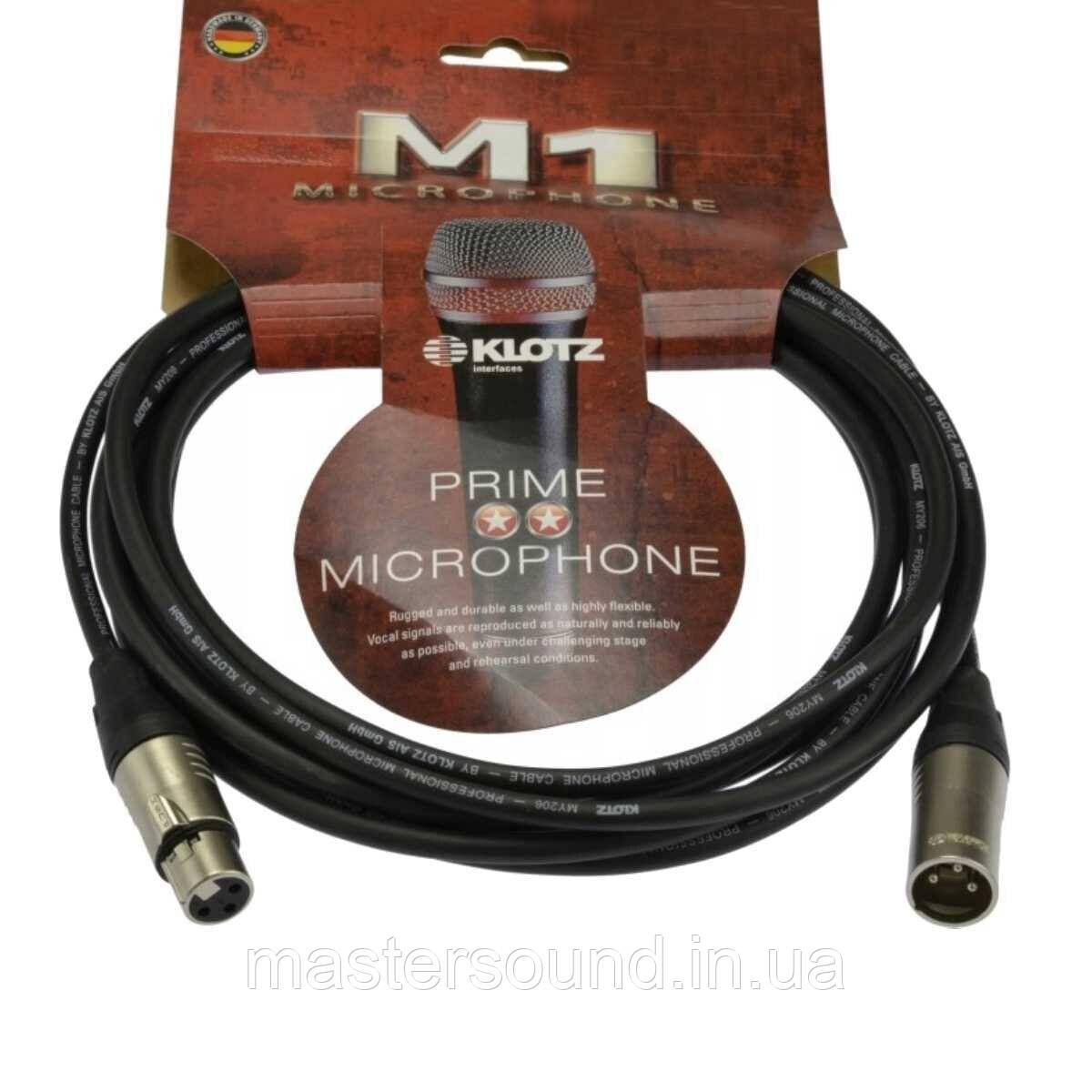 Микрофонный кабель Klotz M1K1FM01000