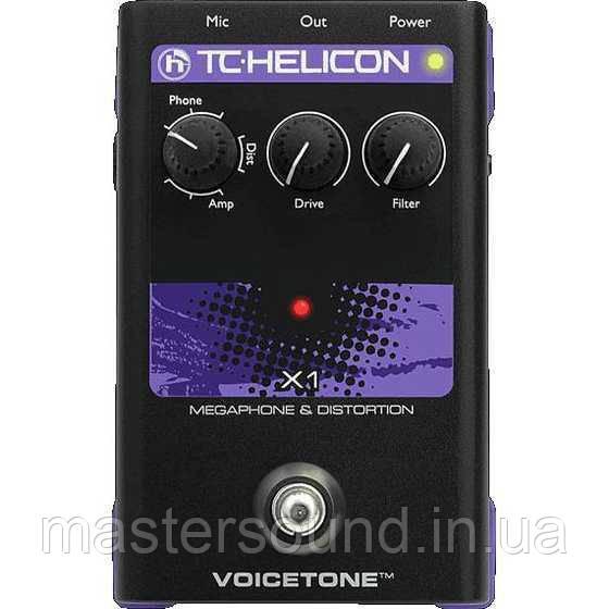 Вокальный процессор TC Helicon VoiceTone X1