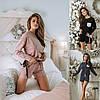 Р 42-60 Трикотажная пижама с шортами 23152