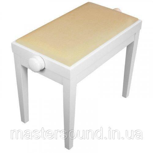 Банкетка для пианино Bespeco SG101IT White