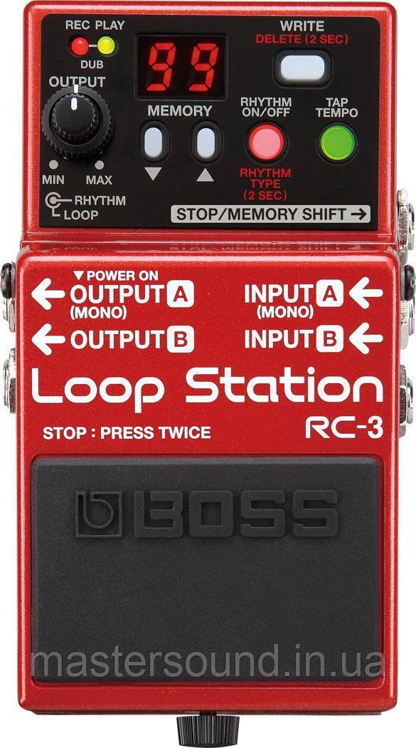 Фразовый семплер Boss RC3