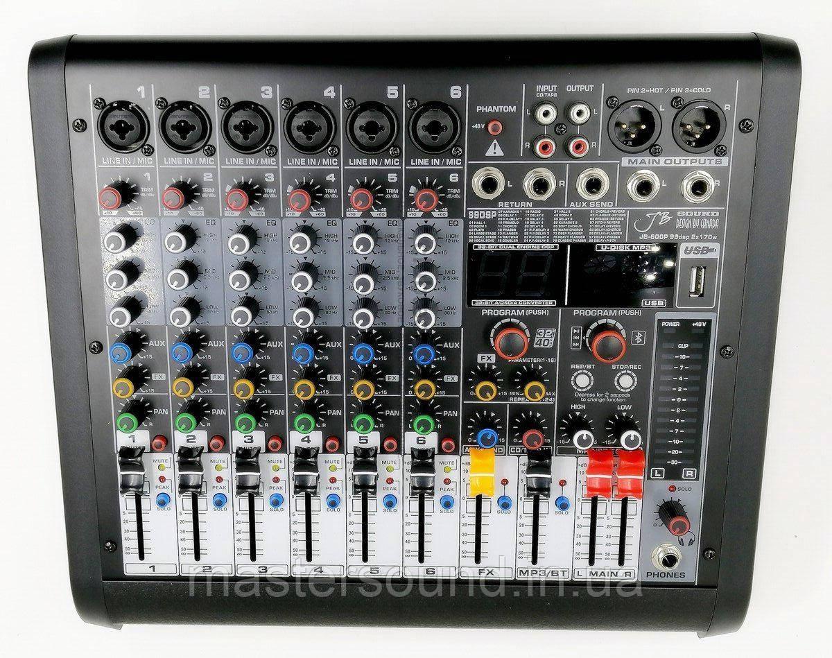 Активный микшерный пульт JB sound JB-600P