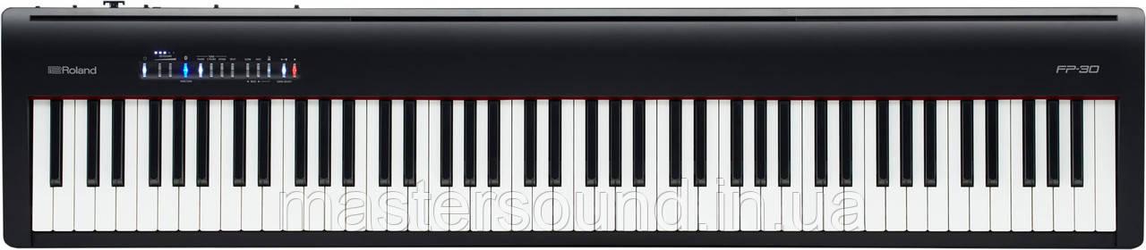 Цифровое фортепиано Roland FP-30-BK