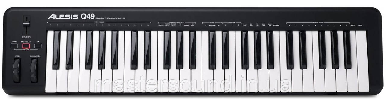 Миди клавиатура Alesis Q49