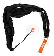 Складна компактна сумка-шоппер Shopping bag to roll up Чорний (KG-738), фото 4
