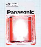 Батарейка 3R12 квадратная, плоская 4,5V, Panasonic, фото 4