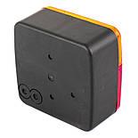 Блок-фара задня Wesem LT1.06727 4-х функціональна 98x103x50 мм, фото 3