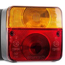 Блок-фара задня Wesem LT1.06727 4-х функціональна 98x103x50 мм