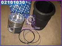 Гильзо-комплект ЕВРО-2 (ГП+Кольца) (общая головка ) гильза Поршень Комплект (производство ЯМЗ)