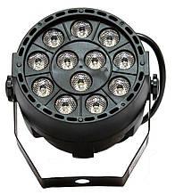 LED прожектор M-Light LED PAR 12x1W RGBW