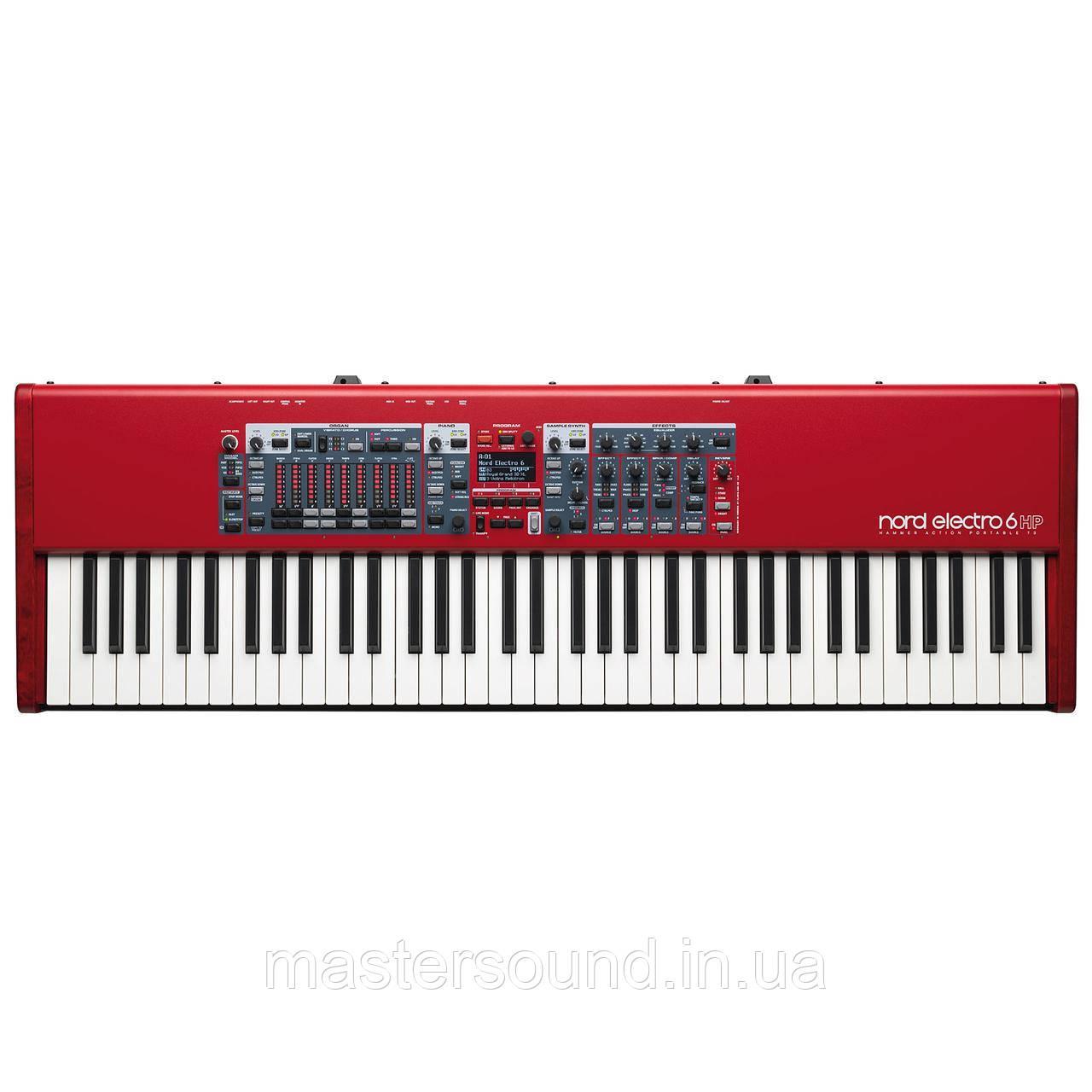 Сценический синтезатор Nord Electro 6 HP