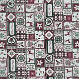 Декоративная новогодняя ткань Тирол, фото 2