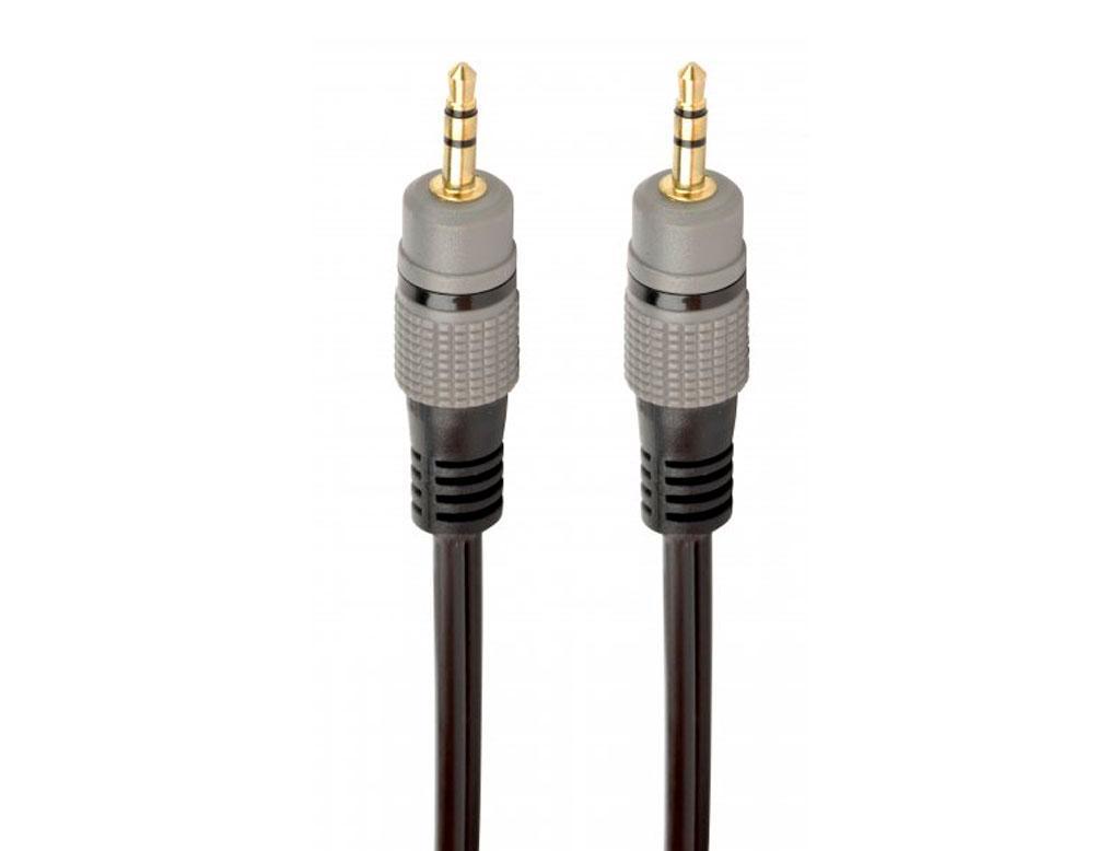 Кабель мультимедийный Jack 3.5mm M to Jack 3.5mm M 1.5m Cablexpert (CCAP-3535MM-1.5M)