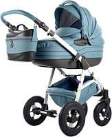 Универсальная коляска 2 в 1 Tako Baby Heaven Exclusive Голубая с термосумкой (Б/У)