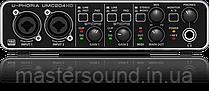 USB аудио интерфейс Behringer U-PHORIA UMC204HD