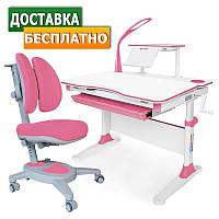 Комплект парта и стулья Evo-30 New c лампой + Onyx Duo