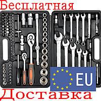 Набор инструментов для авто с ключами Sthor 58689