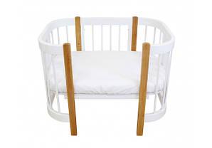 Ліжко трансформер 3в1 Happy Mom