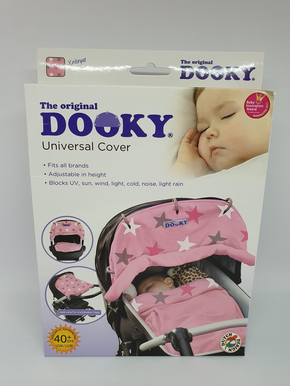 DOOKY Универсальный солнцезащитный козырек для коляски и автокресла