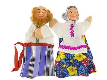"""Набір ляльок-рукавиць """"Дід і Бабка"""" №В071/В072"""