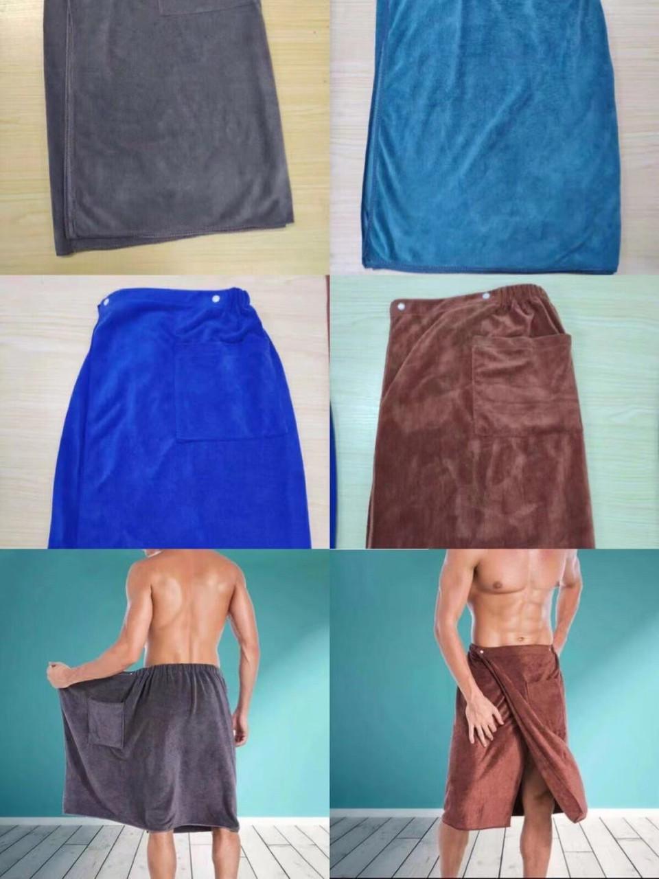 Полотенце мужское для сауны(остаток 2шт)