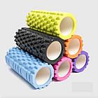 Валик для фитнеса, Валик массажный для спины, Ролик для йоги, похудения, Роллер ,Тренажер, Массажер, фото 5