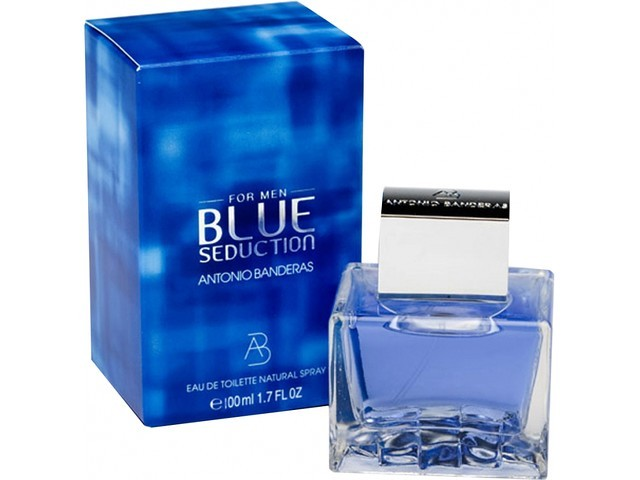 Antonio Banderas Blue Seduction туалетная вода 100 ml. (Антонио Бандерос Блу Седакшн Мен)