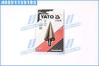 Сверло коническое ступенчатая титан по метал HSS 4241, O = 6-38 мм, L = 105 мм, шт(про-во YATO)