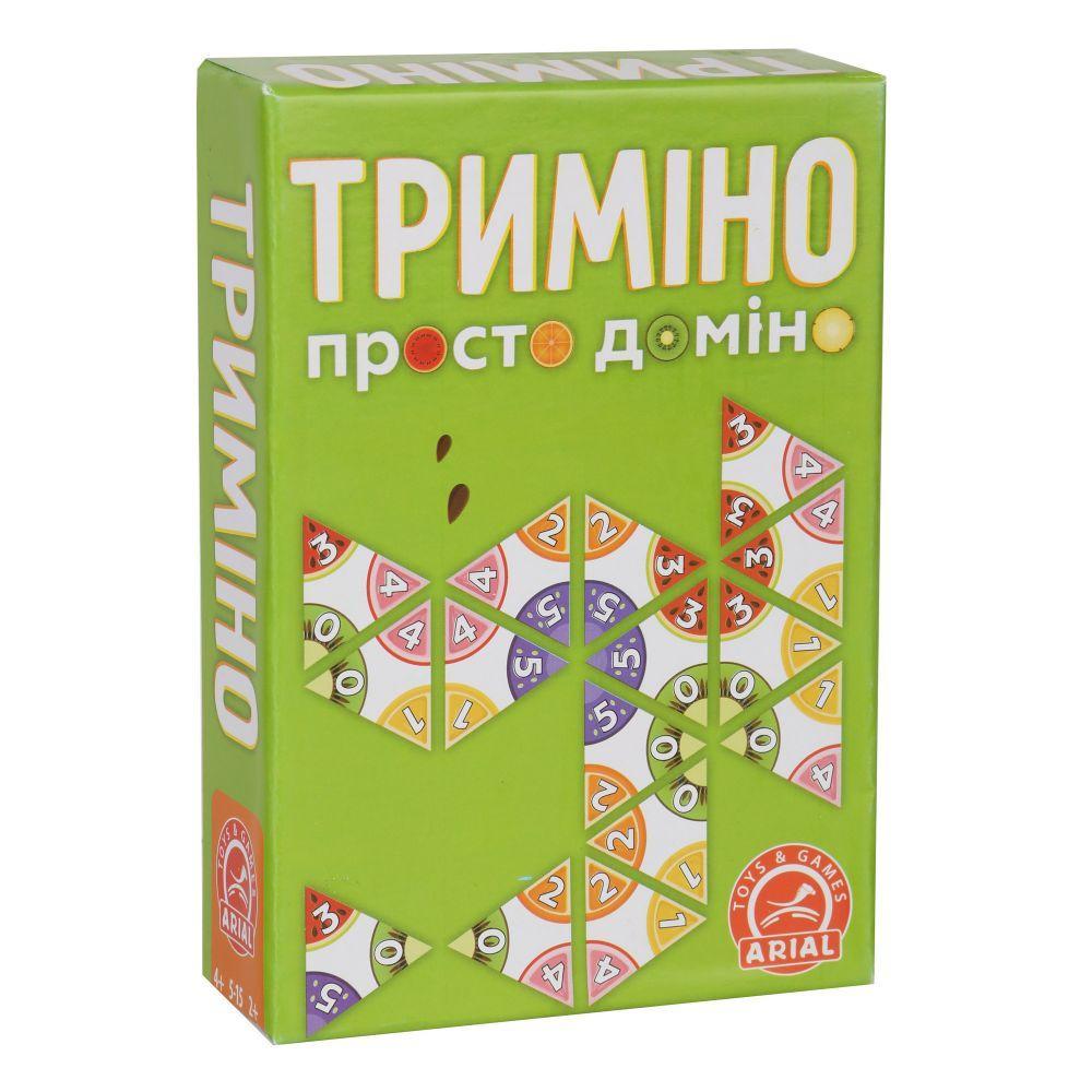"""Игра Arial Просто доміно """"Триміно"""" (Укр) (4820059911081)"""