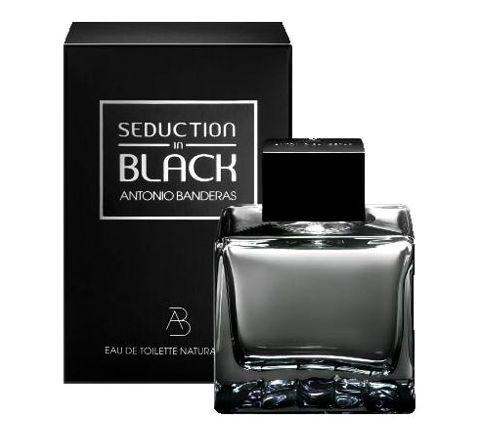 Antonio Banderas Seduction in Black туалетная вода 100 ml. (Антонио Бандерас Седакшн ин Блэк)