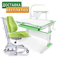 Детские парты и кресла Evo-30 New c лампой + Match