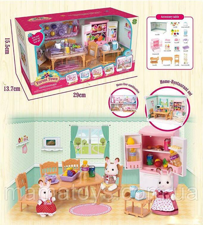 Набор мебели Счастливая семья 15218-15318-15417-15 Happy Family