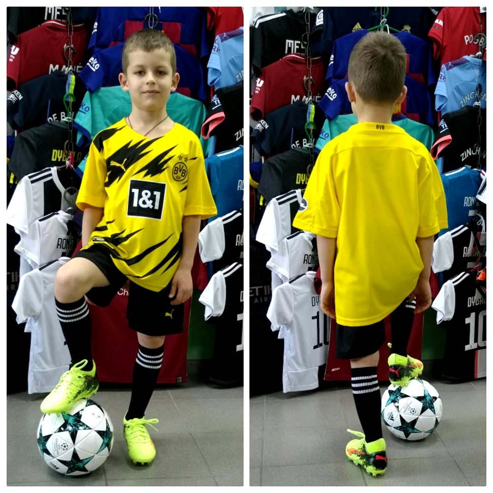Детская футбольная форма ФК Борусии Дортмунд 2020-2021 г