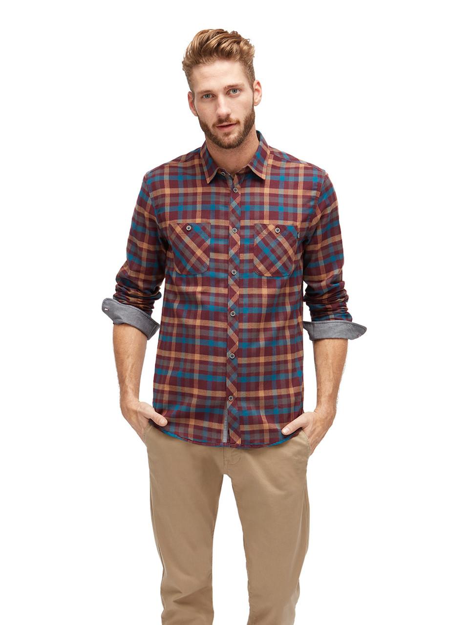 Рубашка Tom Tailor 203390300108 M Бордовый