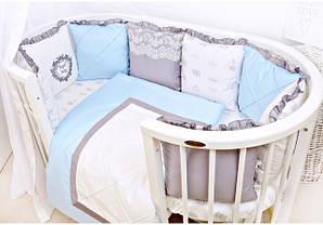 Наборы с бортиками подушками