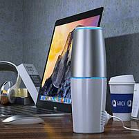USB очиститель воздуха Портативный дезинфектор для автомобиля TURBO CLEAN U Бактерицидная лампа закрытого типа, фото 5