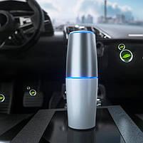 Портативный USB очиститель воздуха УФ бактерицидная лампа для салона авто и небольших помещений TURBO CLEAN U, фото 6