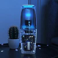 Портативный USB очиститель воздуха УФ бактерицидная лампа для салона авто и небольших помещений TURBO CLEAN U, фото 7
